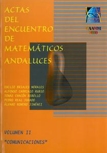 ACTAS DEL I ENCUENTRO DE MATEMÁTICOS ANDALUCES : CELEBRADAS EN SEVILLA, DEL 13 AL 17 DE NOVIEMB