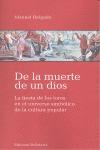 DE LA MUERTE DE UN DIOS : LA FIESTA DE LOS TOROS EN EL UNIVERSO SIMBÓLICIO EN LA CULTURA POPULA