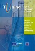 REFERENCE POINTS FOR THE DESIGN AND DELIVERY OF DEGREE PROGRAMMES IN CHEMISTRY : TUNING EDUCATI