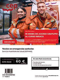 PACK DE LIBROS Y CURSO BASICO TECNICO EMERGENCIA SANITARIA.