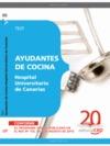 AYUDANTES DE COCINA HOSPITAL UNIVERSITARIO DE CANARIAS. TEST