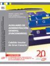 AUXILIARES DE ADMINISTRACIÓN GENERAL DEL CABILDO INSULAR DE GRAN CANARIA (FUNCIONARIOS) : WORD