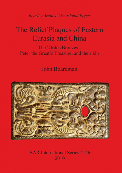 THE RELIEF PLAQUES OF EASTERN EURASIA AND CHINA