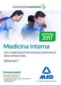 MEDICINA INTERNA VOL 1 TEST COMENTADOS.