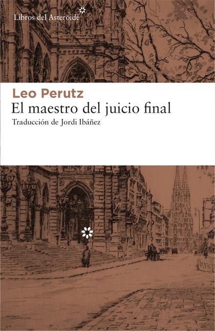 EL MAESTRO DEL JUICIO FINAL.