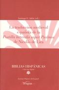 LA TRADUCCIÓN MEDIEVAL ESPAÑOLA DE POSTILLA LITTERALIS SUPER PSALMOS DE NICOLÁS.