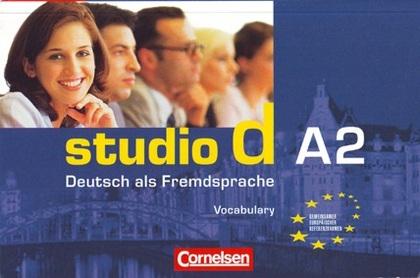 STUDIO D A2: VOKABELTASCHENBUCH                                                 VOKABELTASCHENB