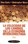 LA VELOCIDAD DE LOS CAMBIOS EN LA ECONOMIA INTERCONECTADA