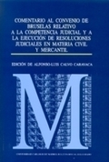 COMENTARIO AL CONVENIO DE BRUSELAS