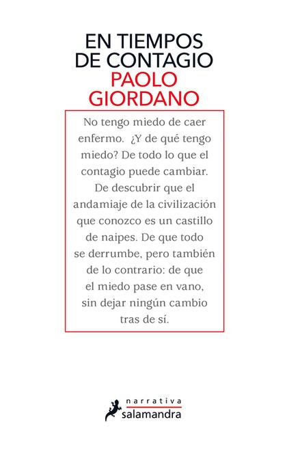 EN TIEMPOS DE CONTAGIO.
