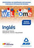 PROFESORES DE ENSEÑANZA SECUNDARIA Y ESCUELAS OFICIALES DE IDIOMAS INGLÉS ANÁLIS
