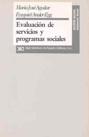 EVALUACION SERVICIOS Y PROGRAMAS SOCIALES