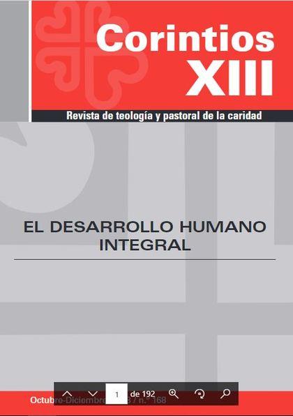 EL DESARROLLO HUMANO INTEGRAL.