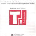 LA EDUCACIÓN INTERCULTURAL DESDE LOS DEPARTAMENTOS DE ORIENTACIÓN Y LOS EQUIPOS DE ORIENTACIÓN