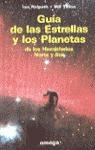 GUIA ESTRELLAS PLANETAS