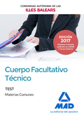 CUERPO FACULTATIVO TECNICO TEST 2017