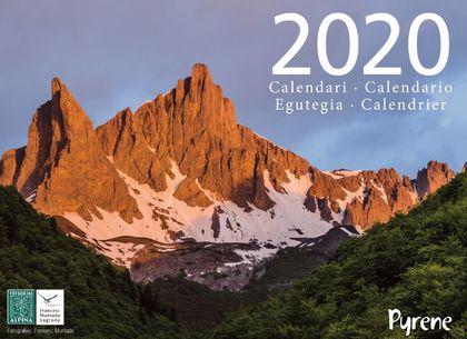 2020 PYRENE CALENDARI -ALPINA.