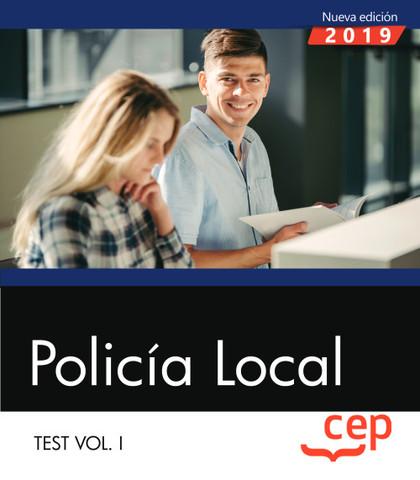 POLICÍA LOCAL. TEST VOL. I.