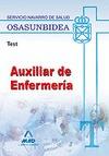 AUXILIARES DE ENFERMERÍA, SERVICIO NAVARRO DE SALUD-OSASUNBIDEA. TEST
