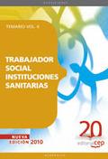 TRABAJADOR SOCIAL,INSTITUCIONES SANITARIAS.TEMARIO.