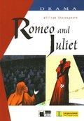 ROMEO AND JULIET DRAMA BOOK + CD.