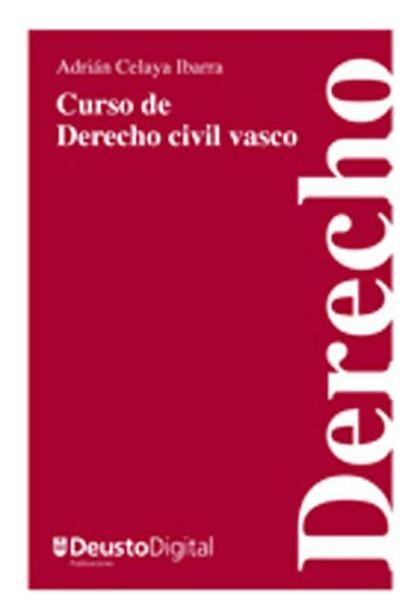 Curso de derecho civil vasco