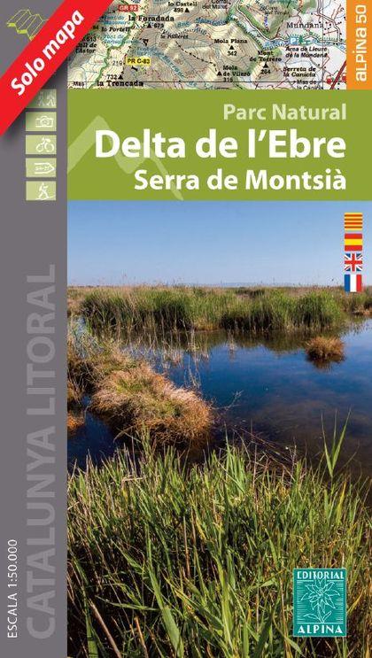 DELTA DE L?EBRE - SERRA DEL MONTSIÀ (ESCALA 1:50.000).
