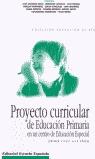 PROYECTO CURRICULAR EP EDUCACION ESPECIAL 6-14