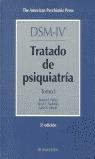 TRATADO DE PSIQUIATRIA VOL. I DSM -IV