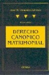 DERECHO CANONICO MATRIMONIAL