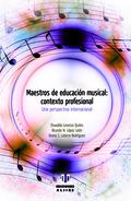 MAESTROS DE EDUCACION MUSICAL CONTEXTO PROFESIONAL