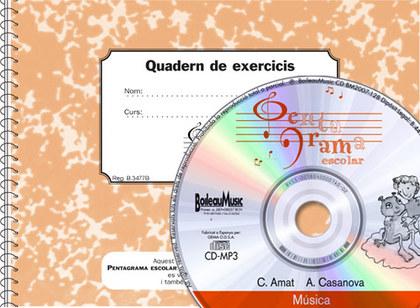 PENTAGRAMA ESCOLAR 4 - CD + QUADERN D´EXERCICIS.