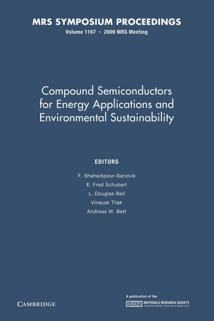 COMPOUND SEMICONDUCTORS FOR ENERGY APPLICATIONS AND ENVIRONMENTAL SUSTAINABILITY