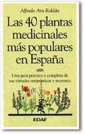 40 PLANTAS MEDICINALES MAS POPULARES ESPAÑA
