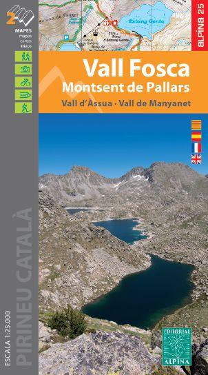 VALL FOSCA 1:25.000 MONTSENT DE PALLARS -ALPINA.