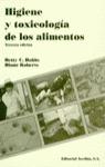 HIGIENE Y TOXICOLOGÍA DE LOS ALIMENTOS