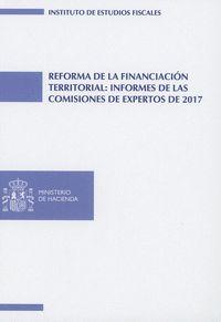 REFORMA DE LA FINANCIACIÓN TERRITORIAL: INFORMES DE LAS COMISIONES DE EXPERTOS D.
