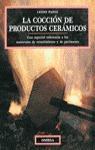 COCCION DE PRODUCTOS CERAMICOS
