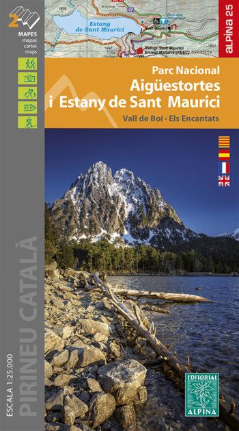 PN AIGUESTORTES I ESTANY DE SANT MAURICI 1:25.000 -ALPINA.