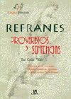 REFRANES PROVERVIOS Y SENTENCIAS LE/4