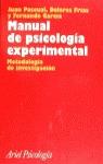 MANUAL DE PSICOLOGIA EXPERIMENTAL