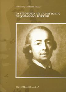 LA FILOSOFÍA DE LA HISTORIA DE HOHANN G. HERDER