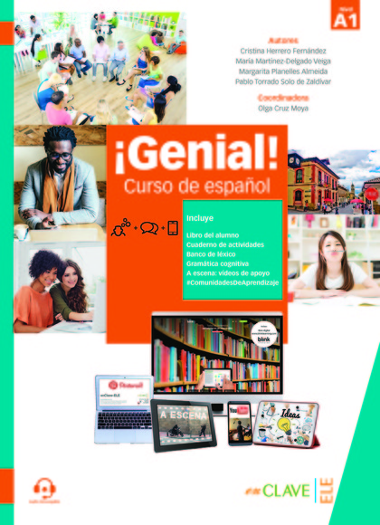 GENIAL! A1 - CURSO EN ESPAÑOL.