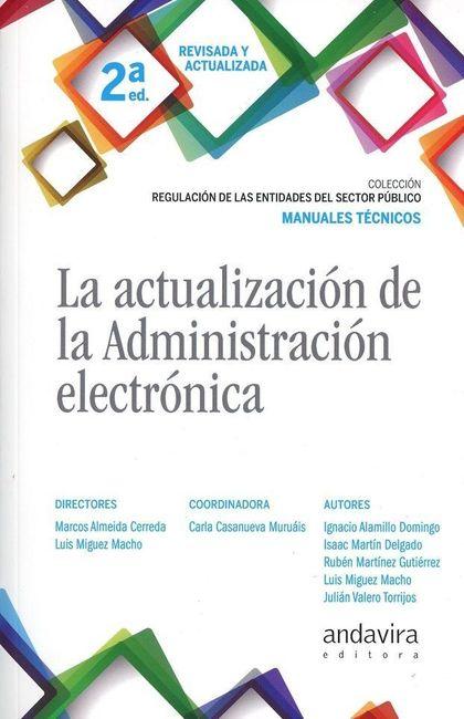 ACTUALIZACIÓN DE LA ADMINISTRACIÓN ELECTRÓNICA, LA
