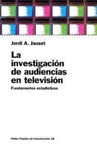 INVESTIGACION DE AUDIENCIAS EN TV