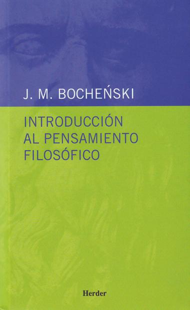 INTRODUCCION AL PENSAMIENTO FILOSOFICO