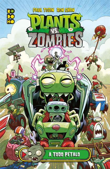 PLANTS VS. ZOMBIES: A TODO PÉTALO.