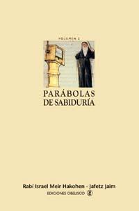 PARÁBOLAS DE SABIDURÍA II