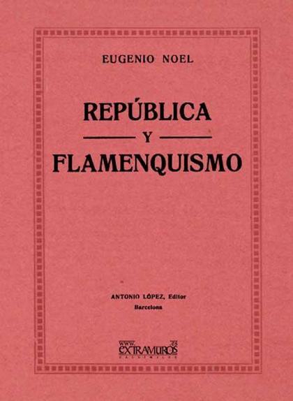 República y flamenquismo