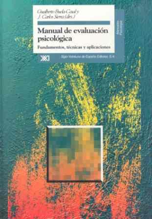 MANUJAL EVALUACION PSICOLOGICA